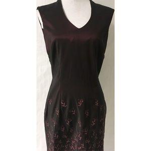 Dresses & Skirts - Burgundy Dress Size 8